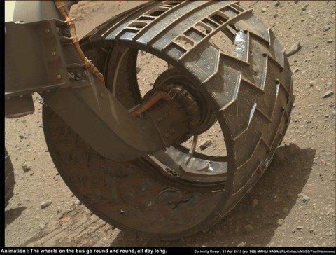 curiosity tires