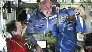 SPACE STATION WELCOMES TOURIST DENNIS TITO